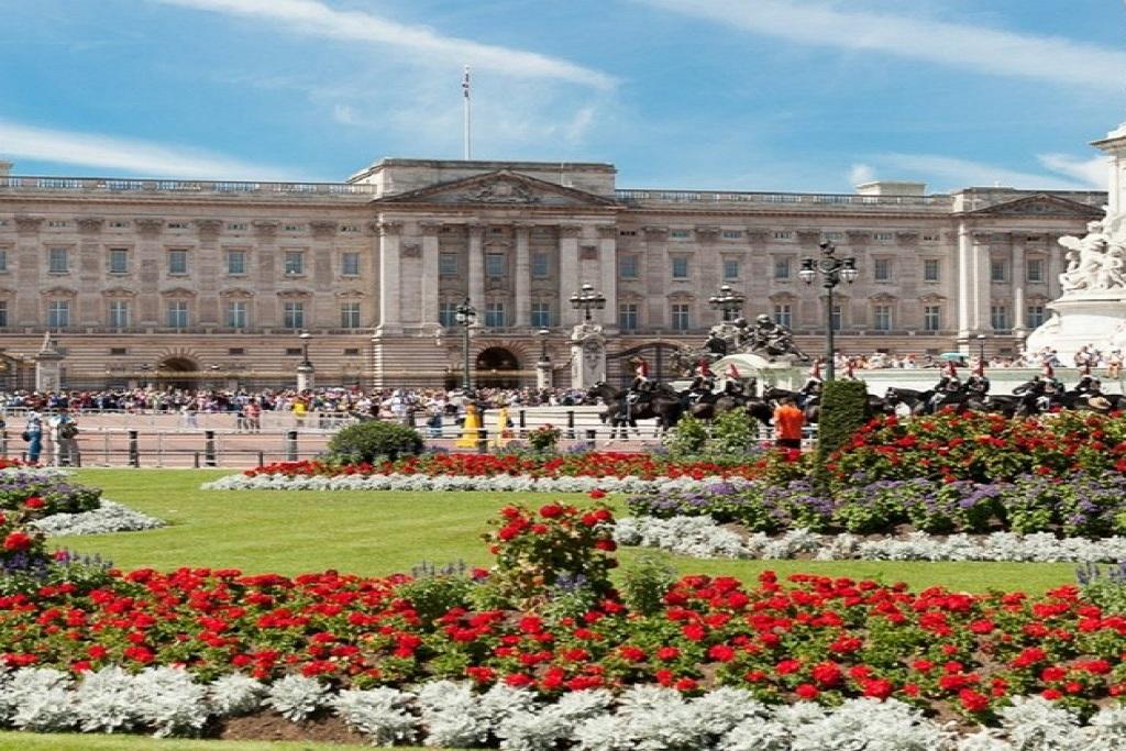 London, Buckingham-palace