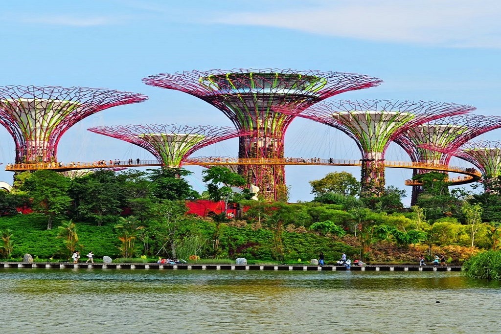 Singapore, Gardens-by-the-bay